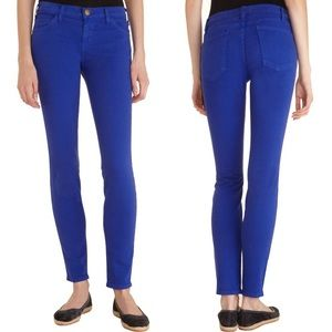 Current/Elliott | Royal Blue Skinny Ankle Jeans